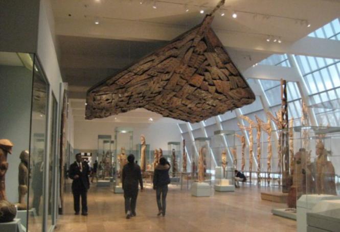 Kwoma Ceiling, Metropolitan Museum of Art, NYC